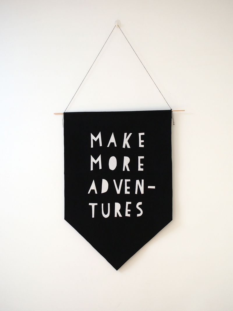 Davina's DIY no sew Make More Adventures banner.