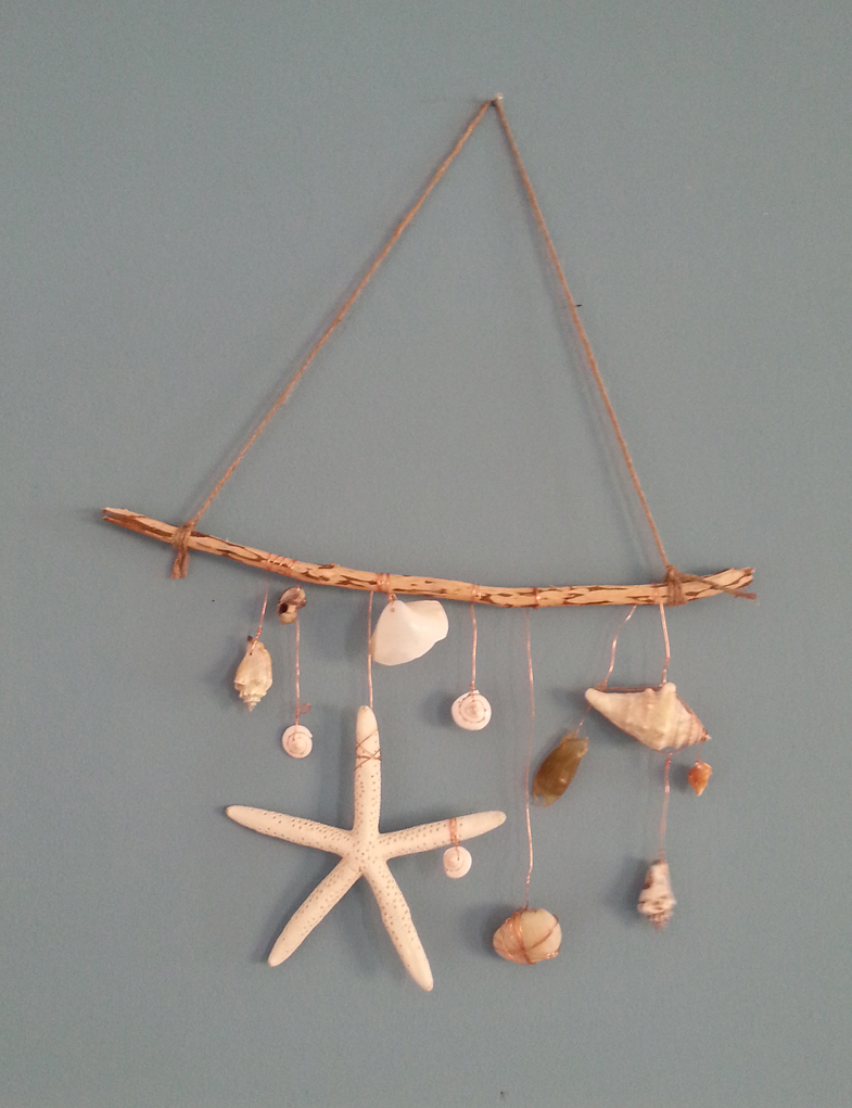 Lou Archell for Seeds and Stitches Beach wall hanging