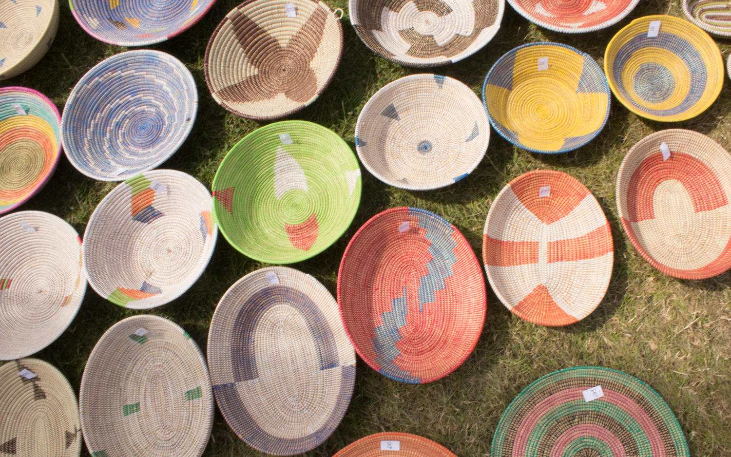 Baskets at womad