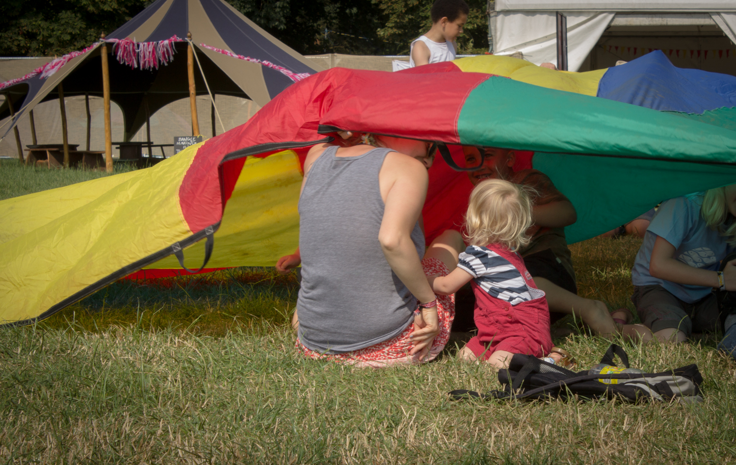 Kids activities at womad