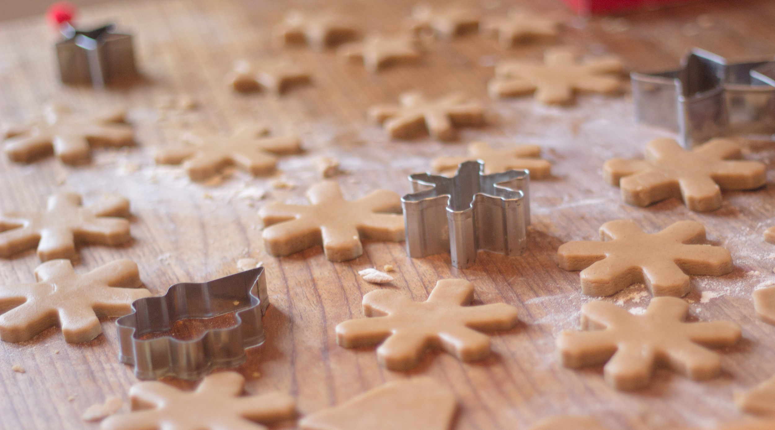 Pepperkaker biscuits in the making | Seeds and Stitches blog