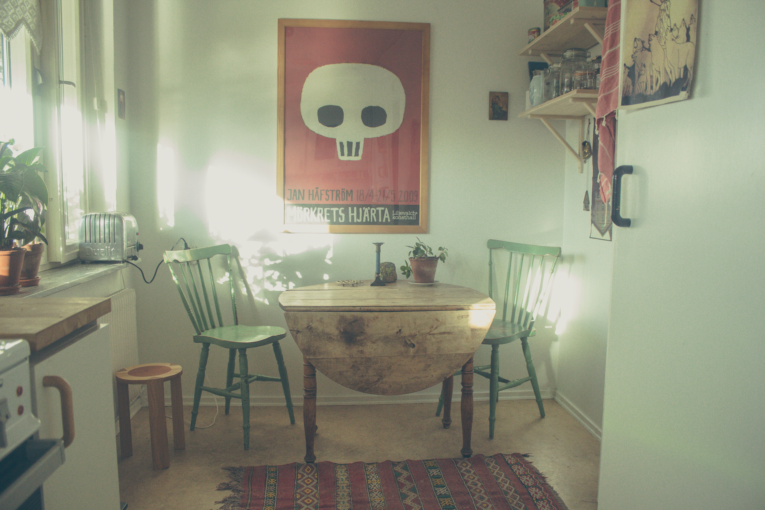 Emma's Airbnb apartment, Gothenburg | Seeds and Stitches