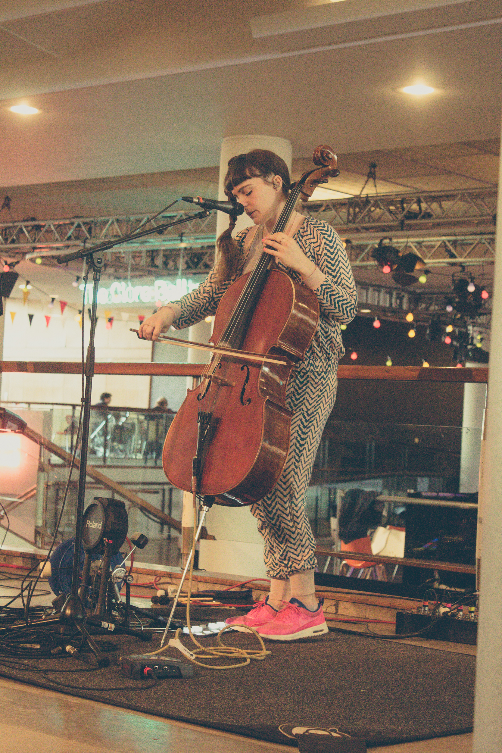 Abi Wade played at WOW on Saturday- we loved her and have been playing herever since.