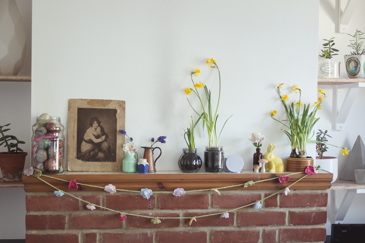 Spring decorating | Seeds and Stitches blog