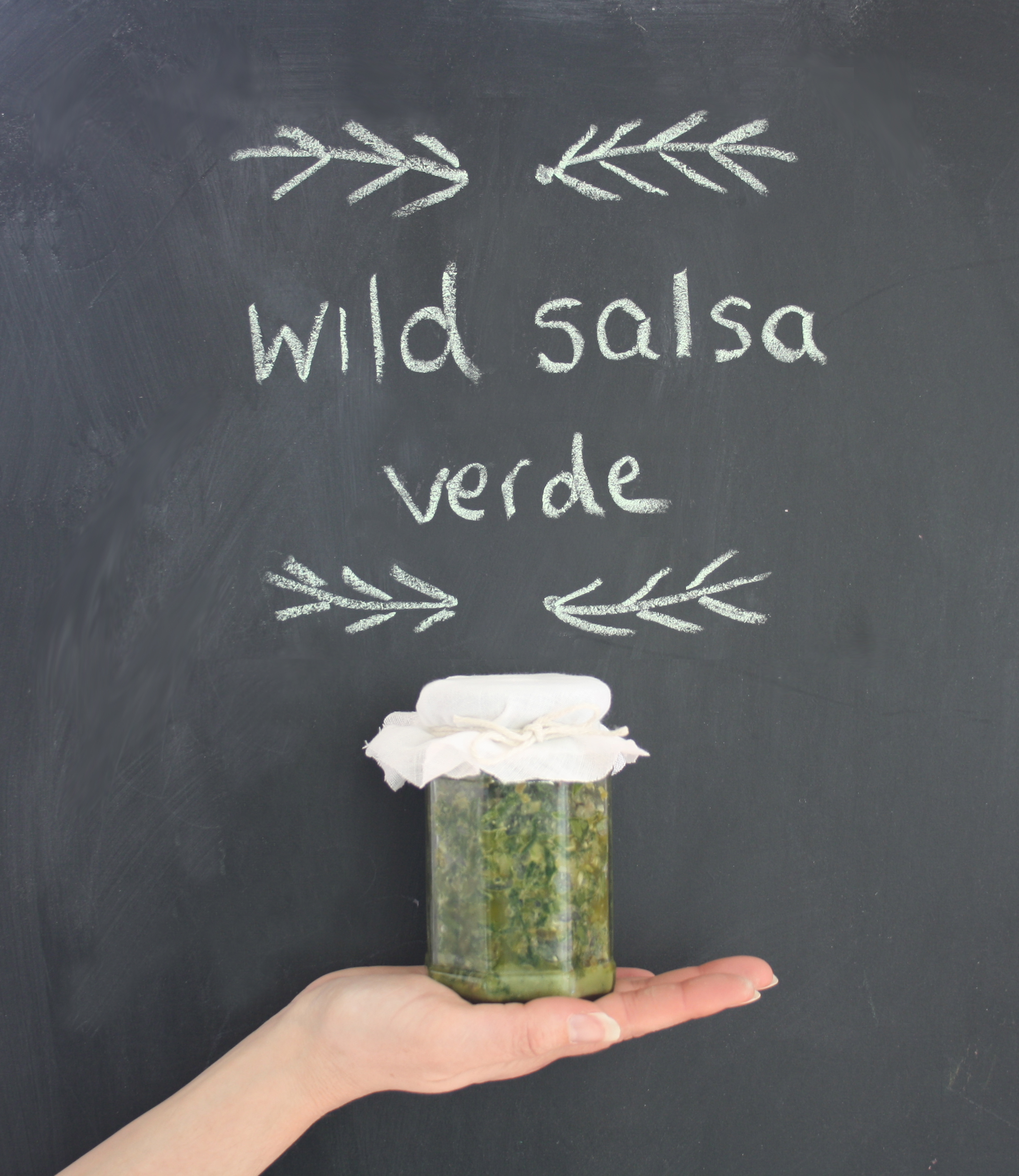 Wild, Foraged Salsa Verde by Fore Adventure | Seeds and Stitches blog