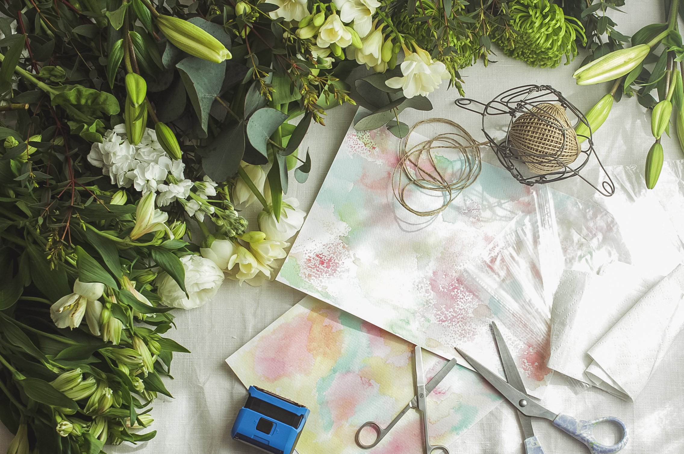 Make May Day posies for friends | Seeds and Stitches blog