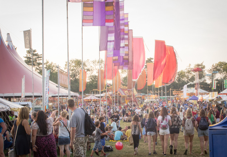WOMAD at Sunset | Seeds and Stitches blog