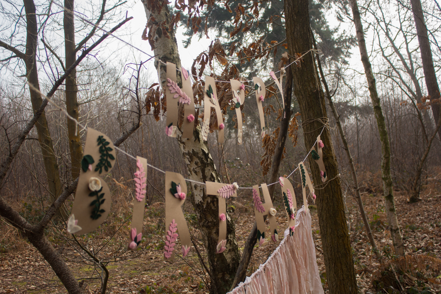 Party in the woods| Seeds and Stitches blog