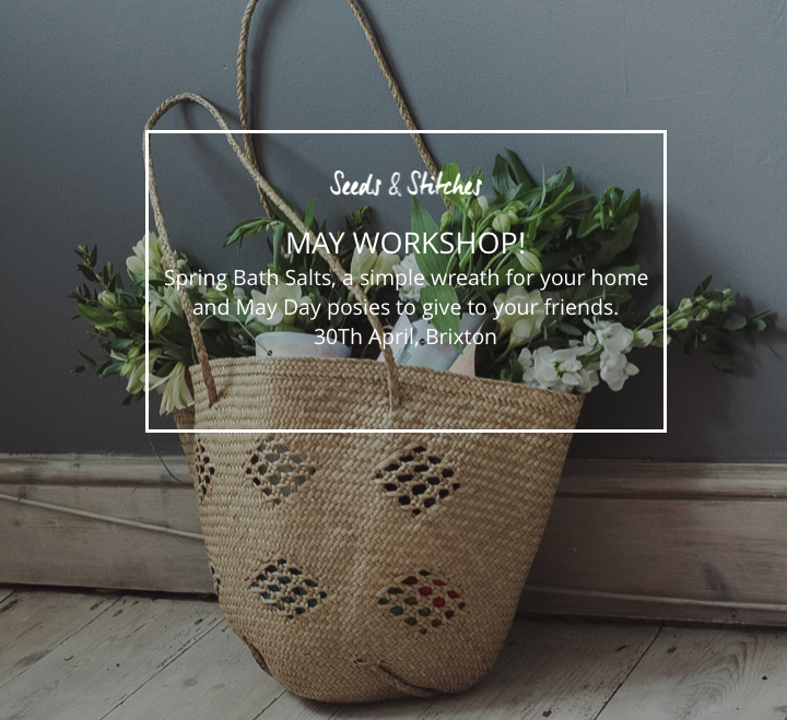 New workshop!  | Seeds and Stitches blog