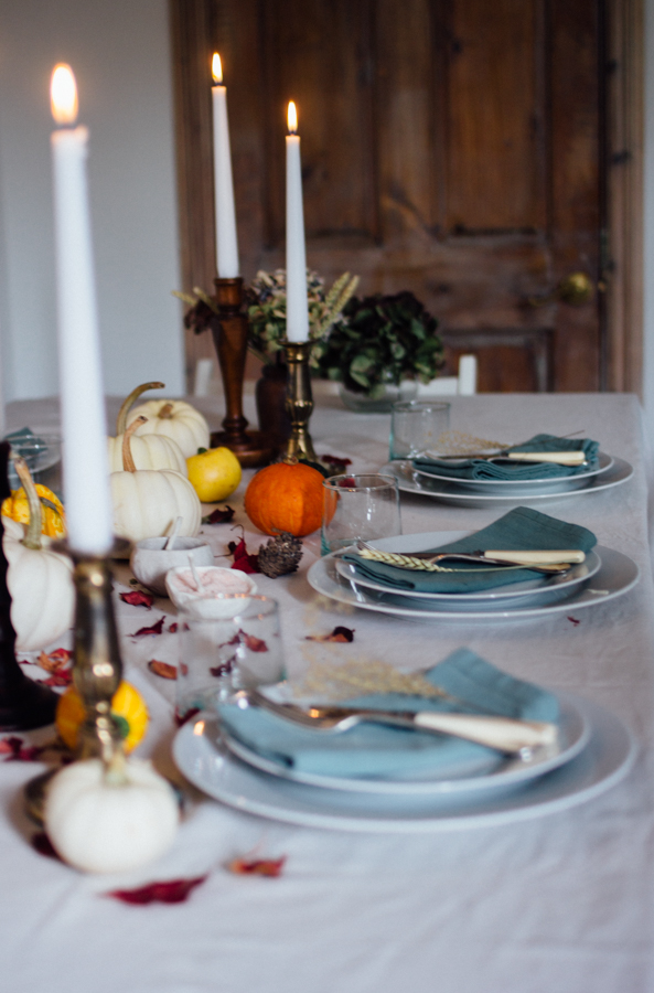 Laying an Autumn table | Seeds and Stitches blog