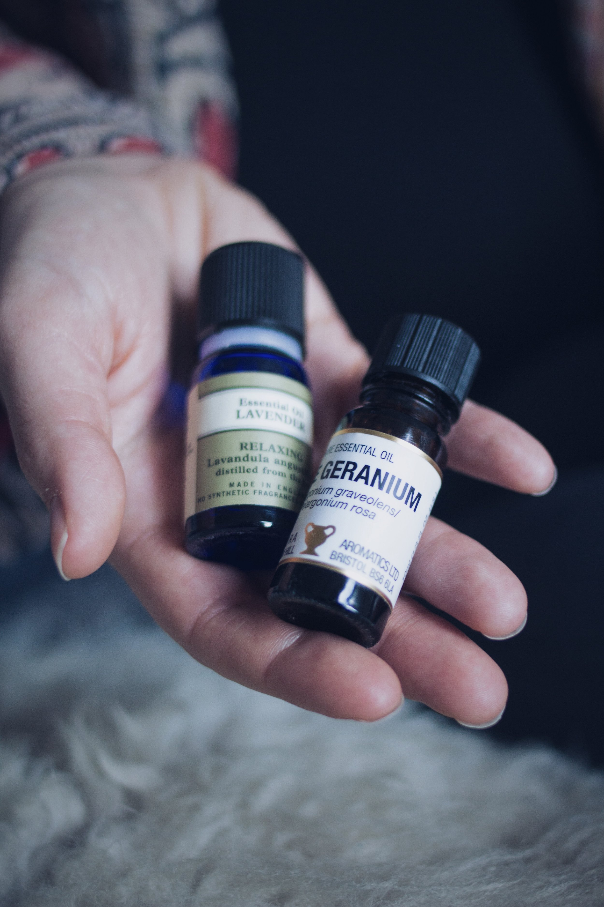 My favourite essential oils | Seeds and Stitches blog