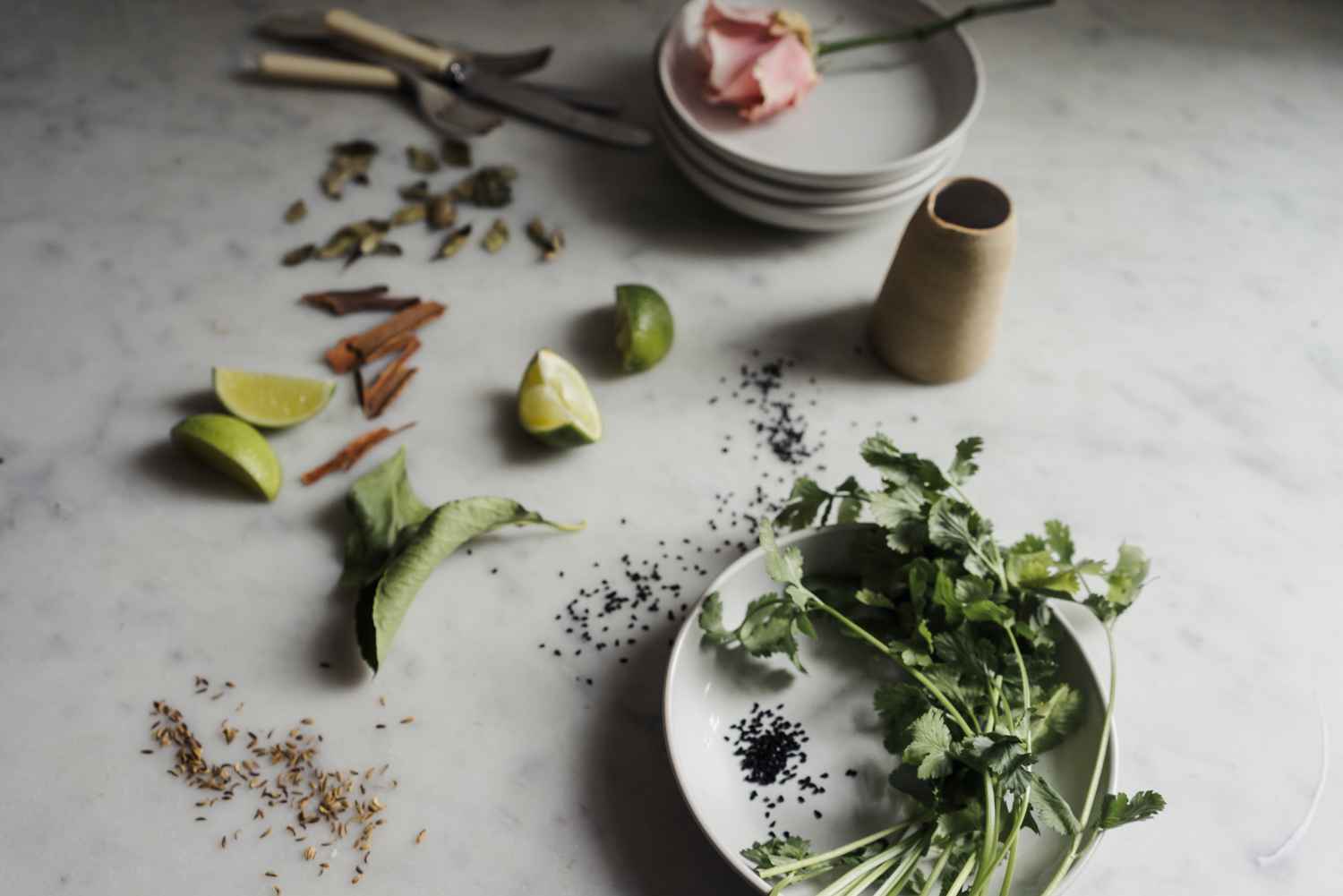 A romantic meal for two at home | Seeds and Stitches blog