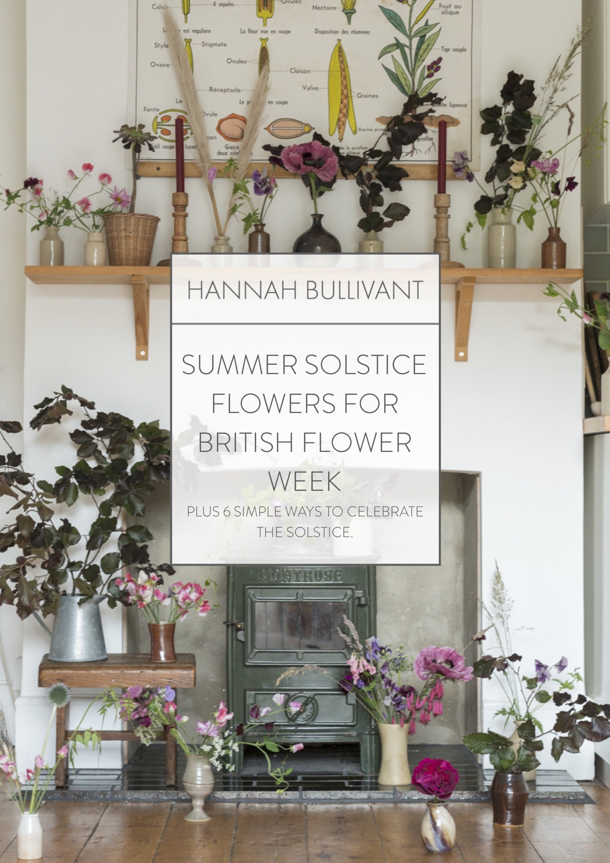 Simple ways to celebrate the summer solstice, British flowers | Hannah Bullivant