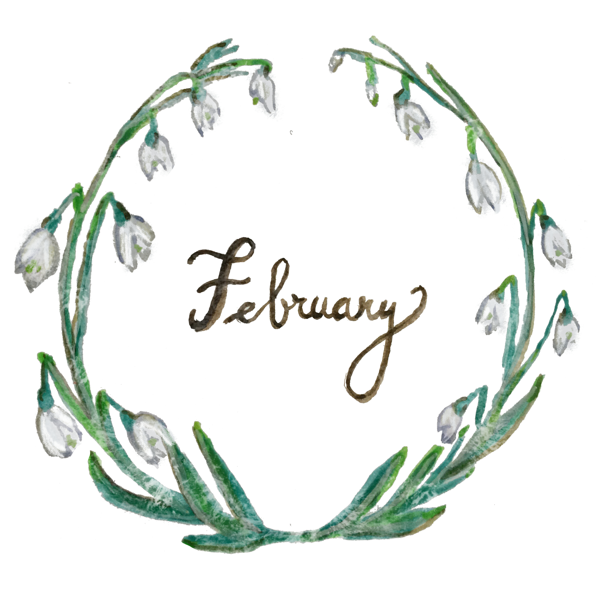February by Emily maguin