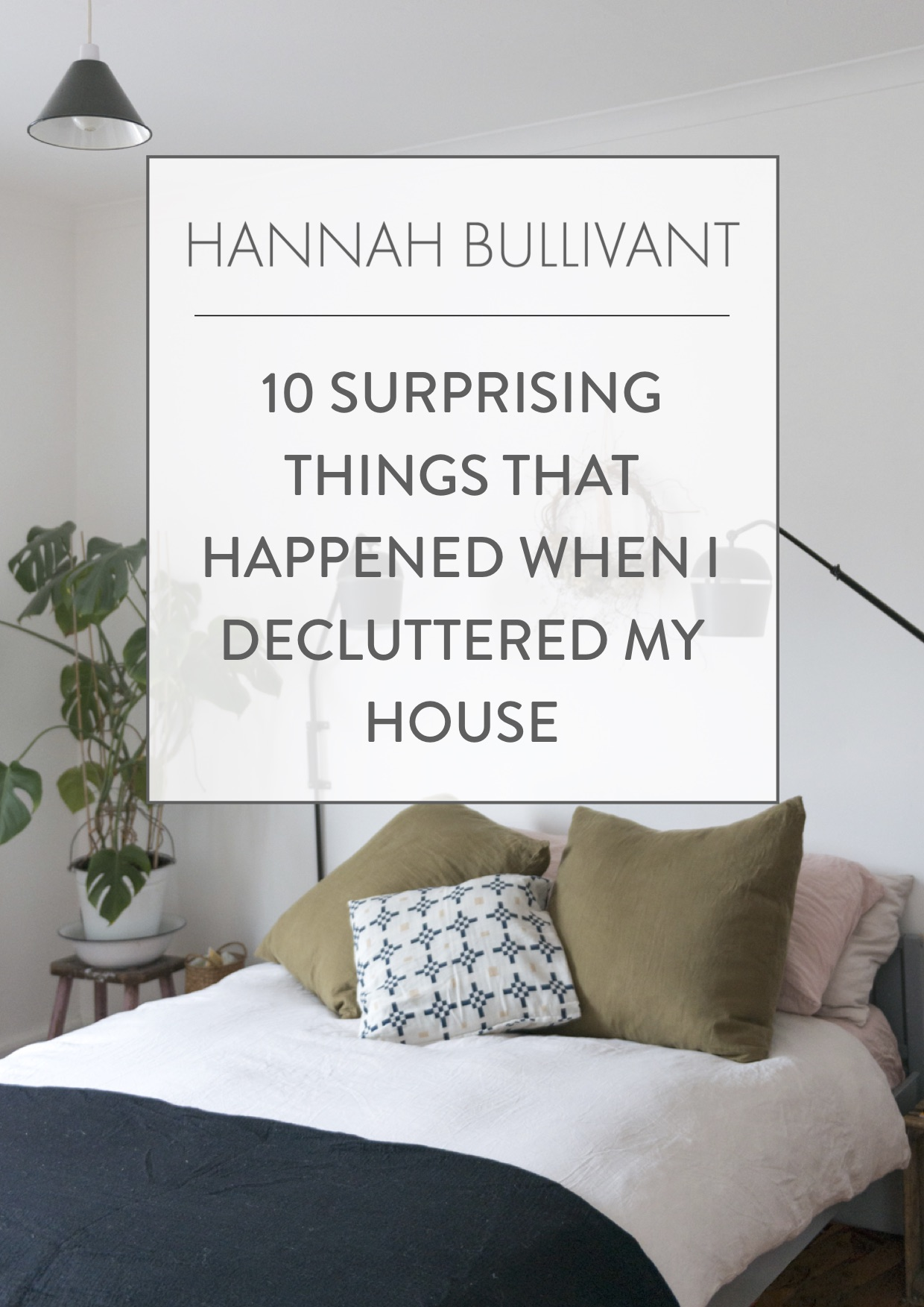 10 surprising things that happened when I decluttered my house