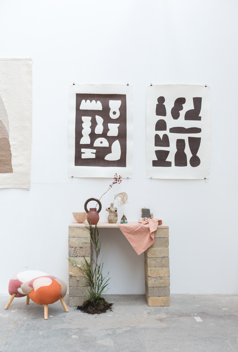 Prints are by Alessandro Chambers- AEand Studio