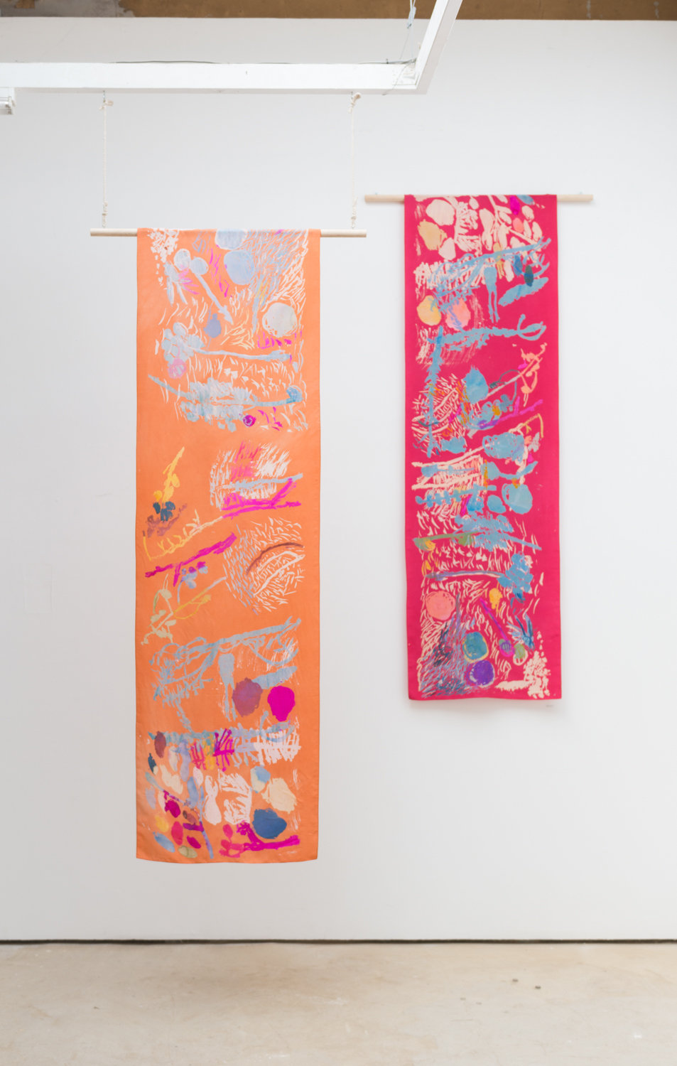 Hangings by Caitlin Hinshelwood Peckham craft show 2019.