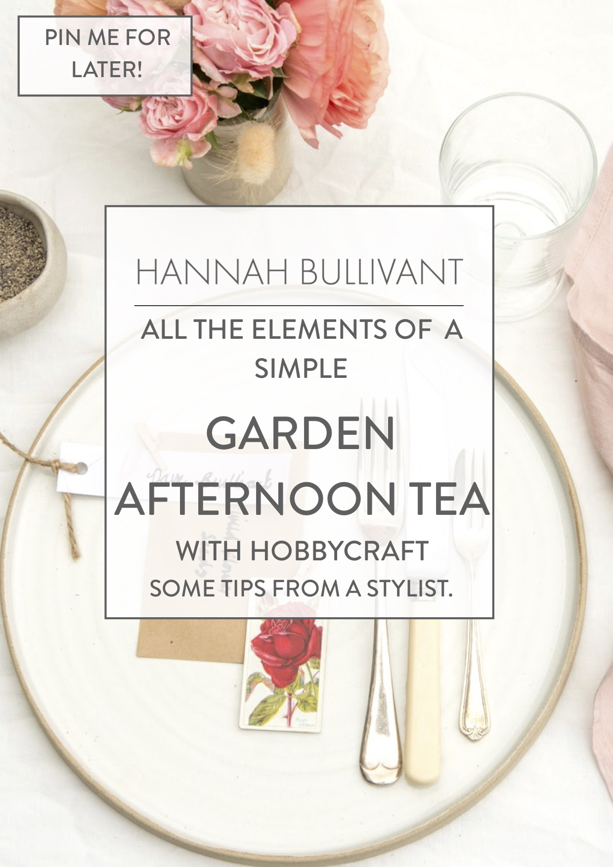 Stylist tips for hosting a garden afternoon tea