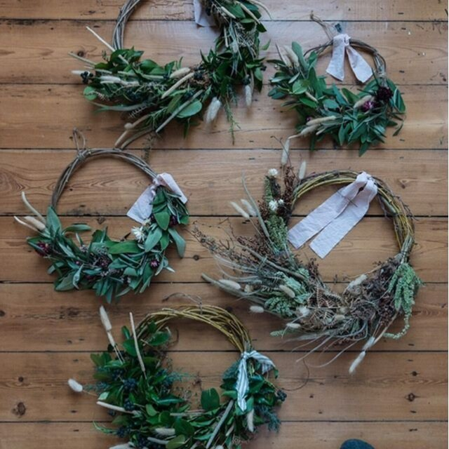 Wreath Making Workshop - at Grain & Hearth, Whitstable
