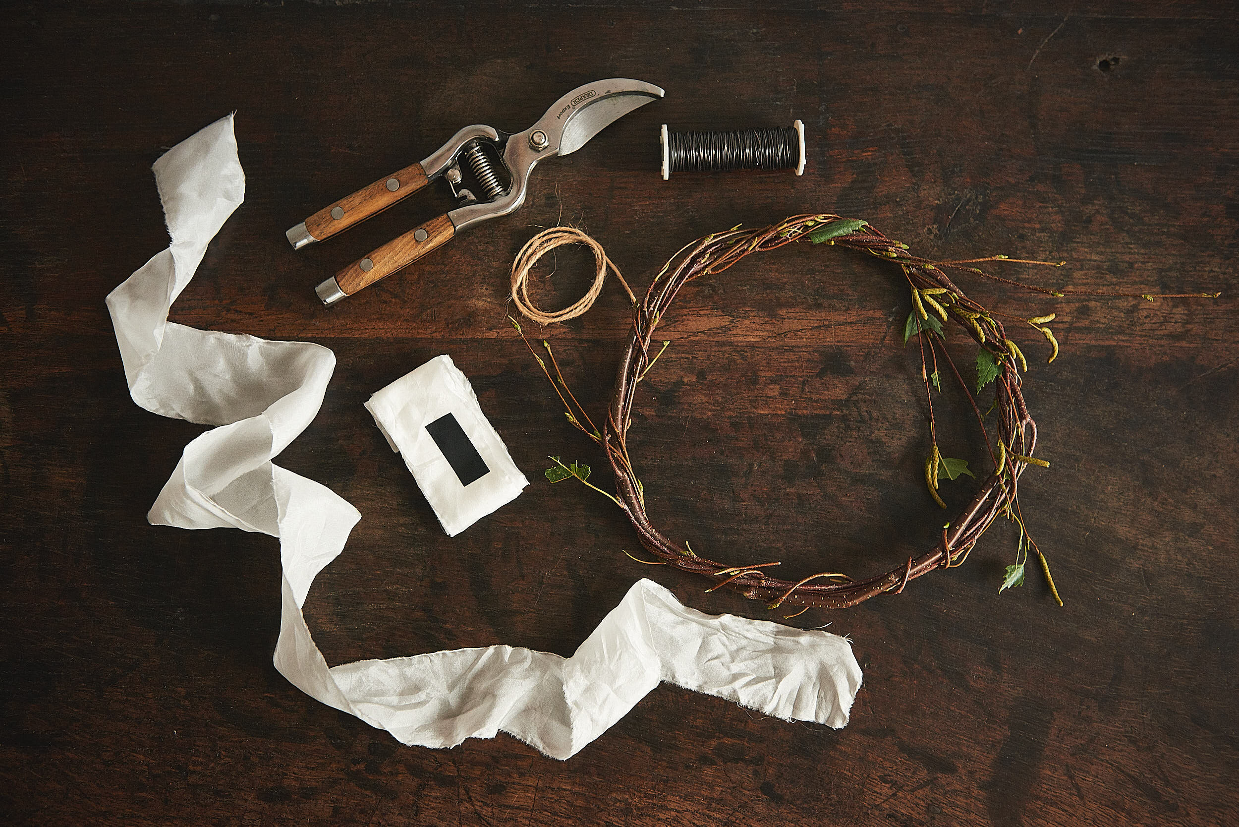 Wreath making class plus kit!