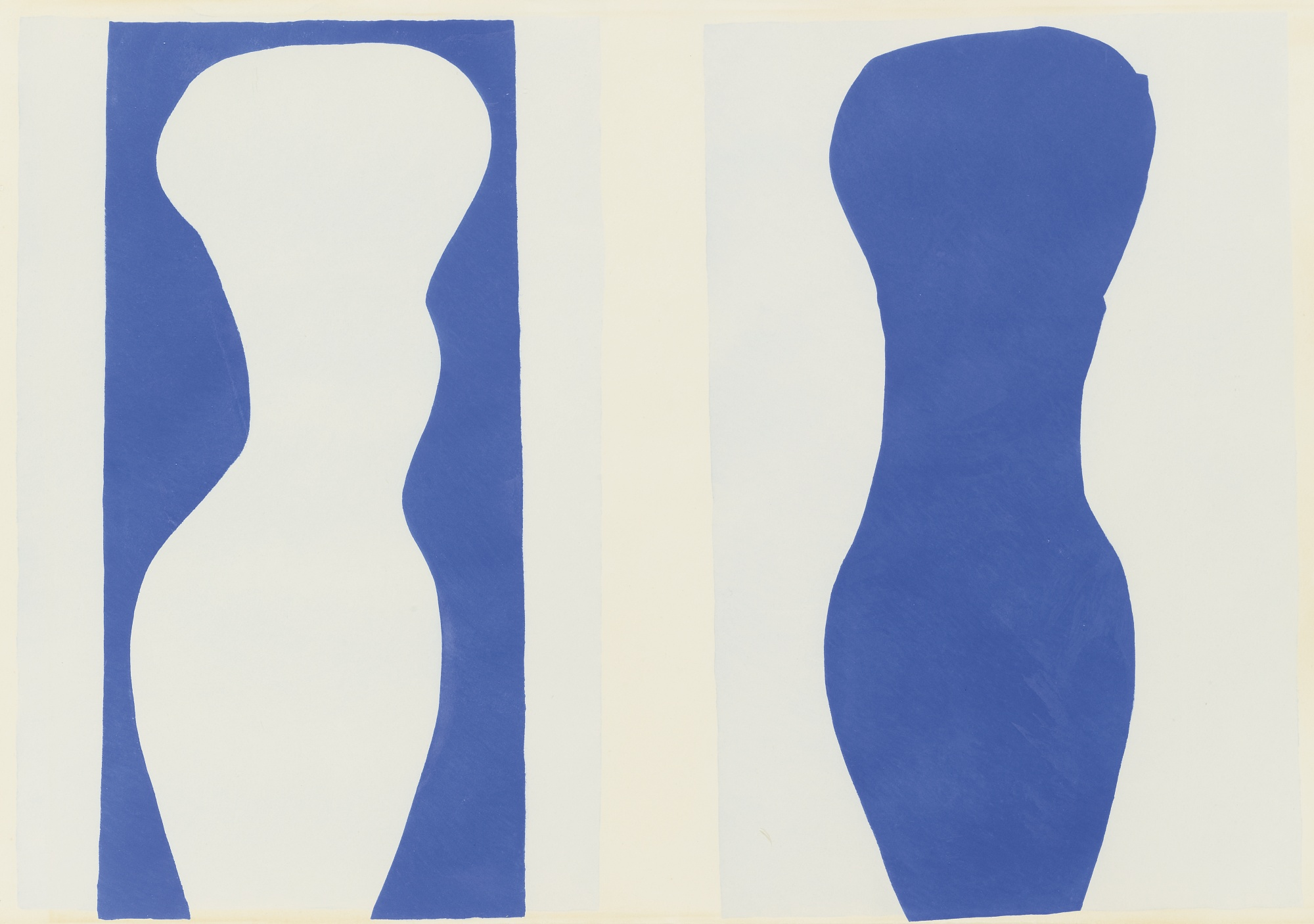 Henri Matisse -Formes, PL. IX (from Jazz,1947)