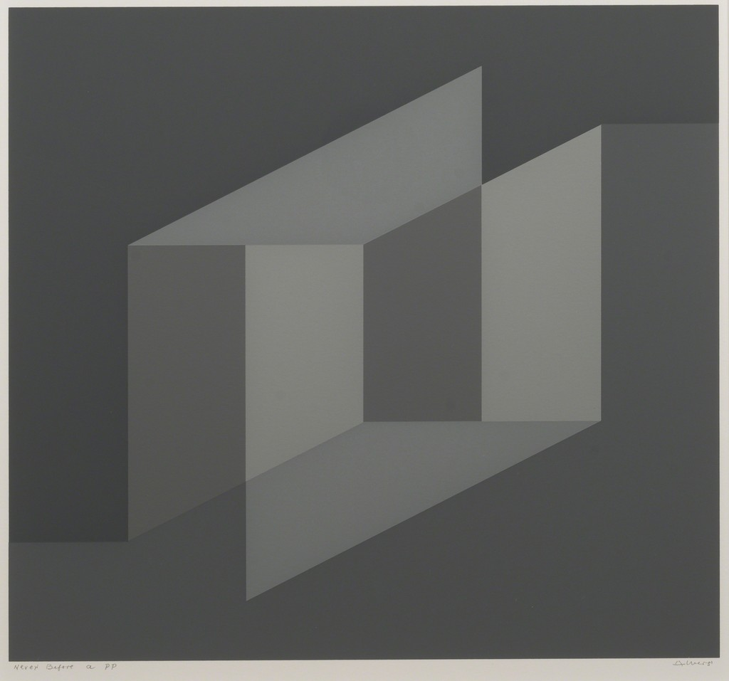 Josef Alvers, Never Before a, 1976