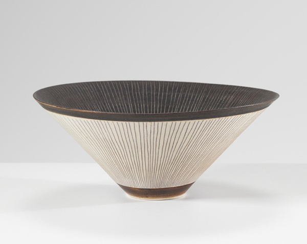 Lucie Rie, Conical Porcelain Bowl