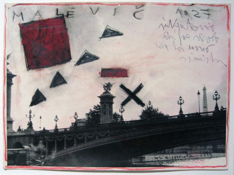 malevic, 1999   Art on photo