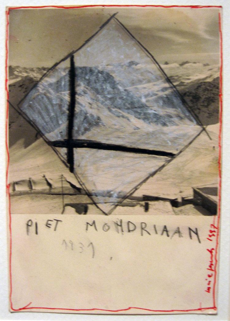 mondrian, 1997   Art on photo