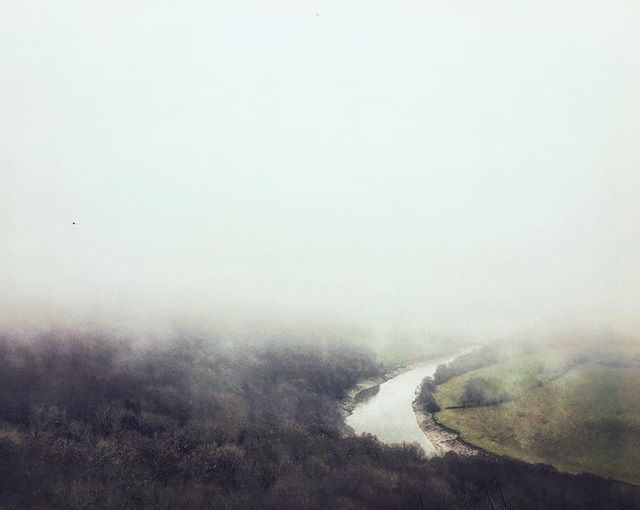 A Misty Merry Christmas . . . . #Photography #wye #valley #mist #fog #atmospheric #Christmas #walk #river