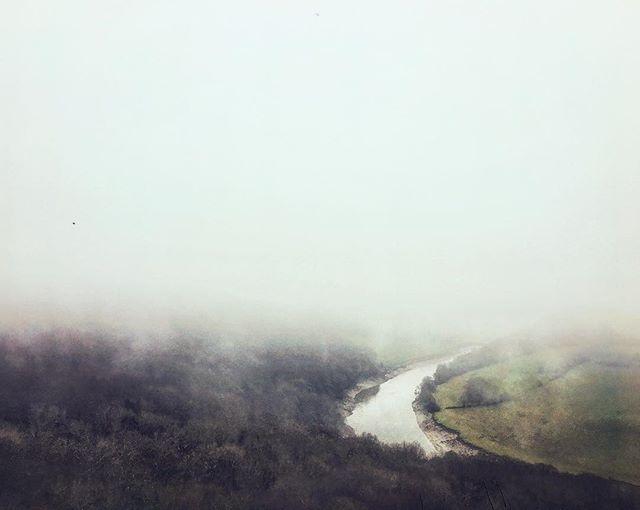 A Misty Merry Christmas . . . . #Photography #wye #valley #mist #fog #atmospheric #Christmas #walk #river