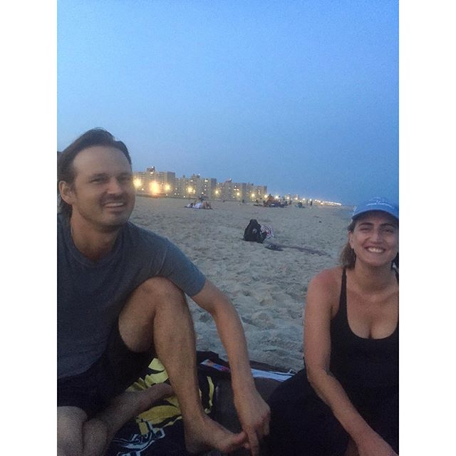 @roscolk said something funny and we liked it // @jules_and_binoculars  #beachatdusk #solshyne #rippers