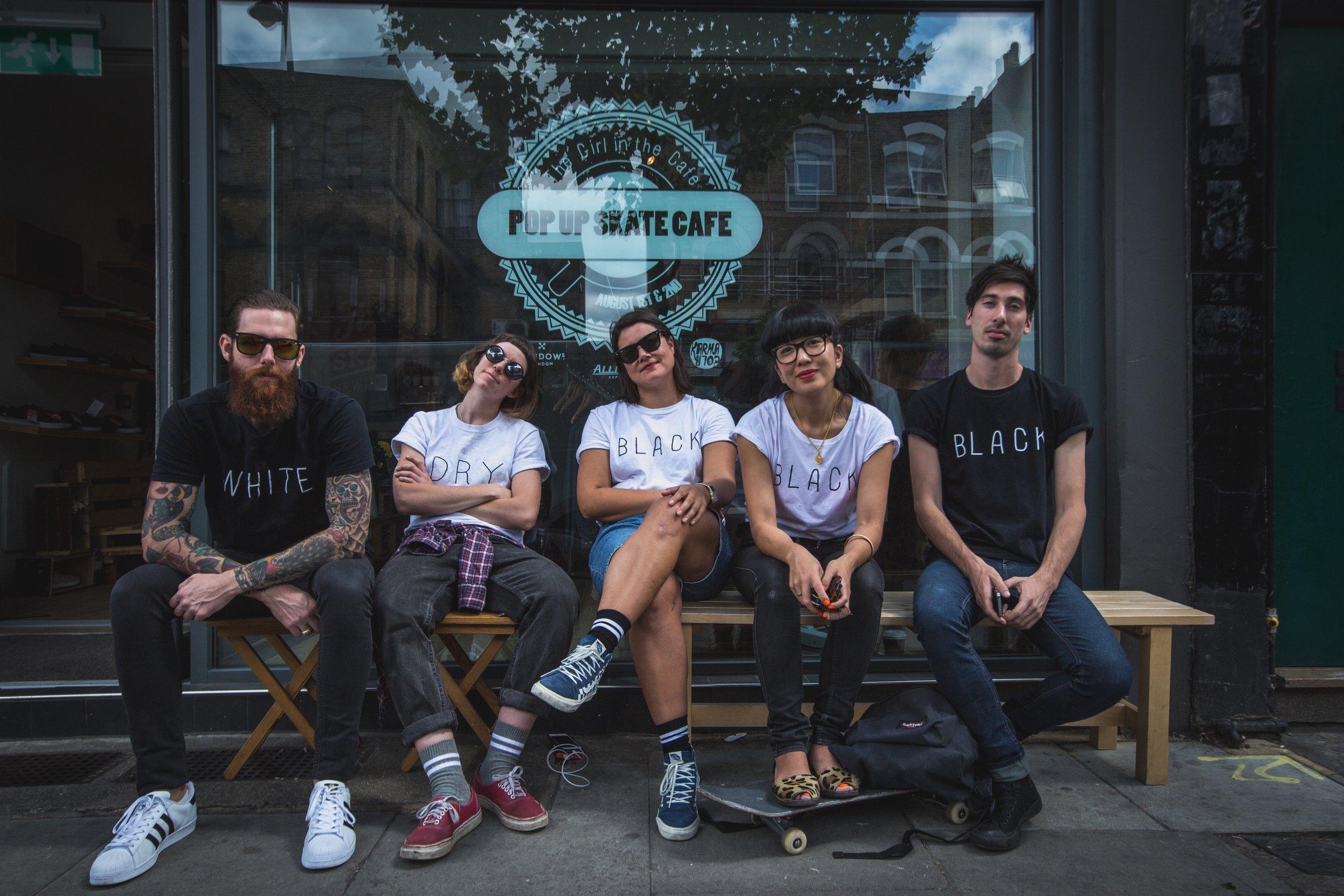 TGITC Pop up SKATE cafe - Video