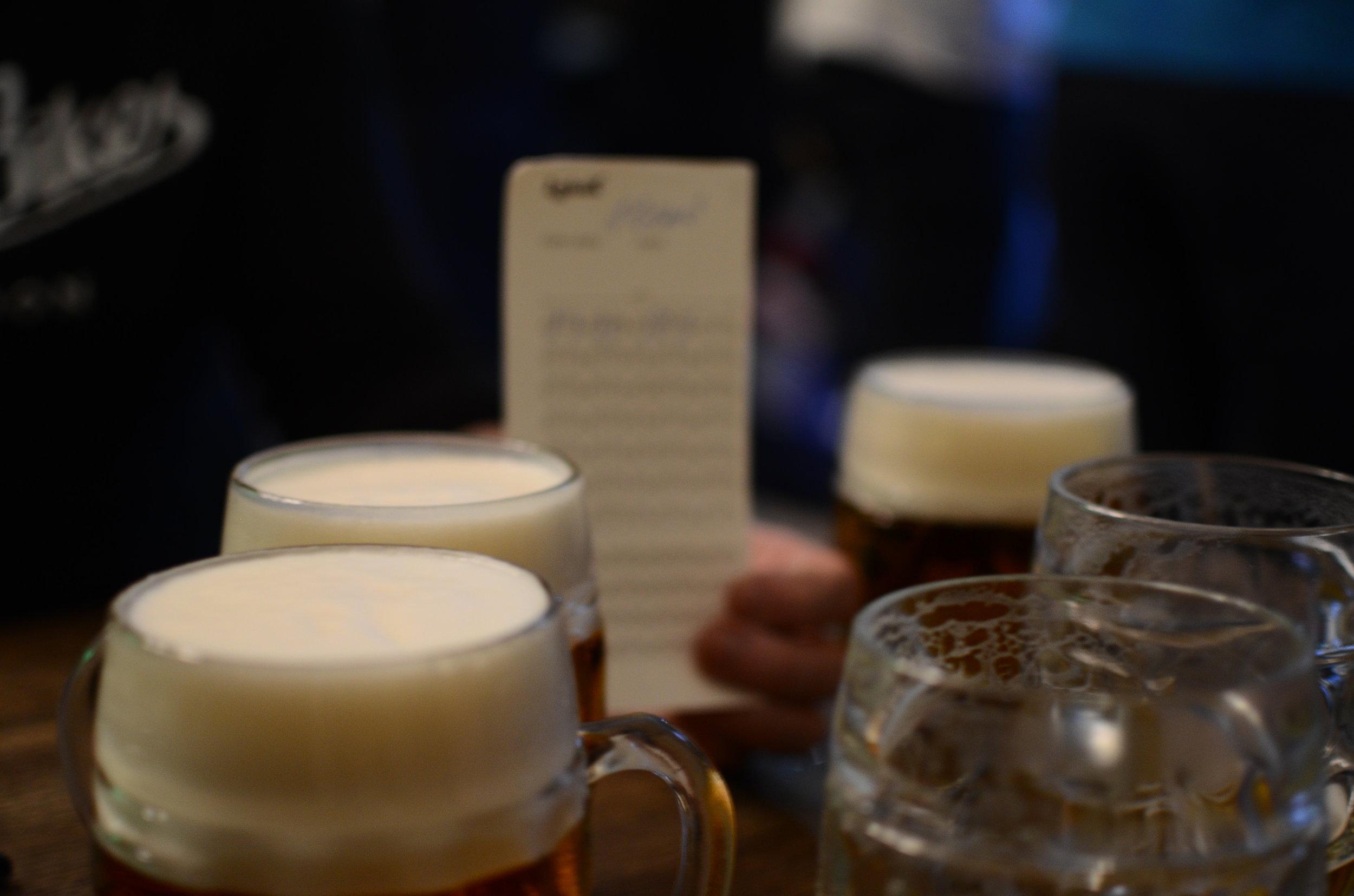 """Lokal"" beer hole £1 pints"