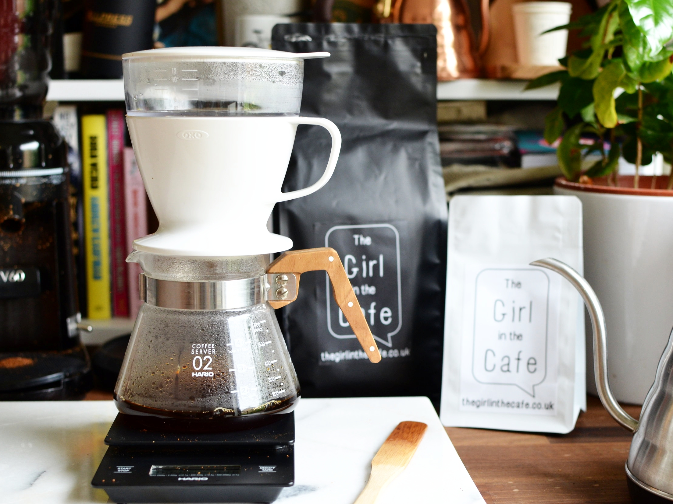 The OXO pour over