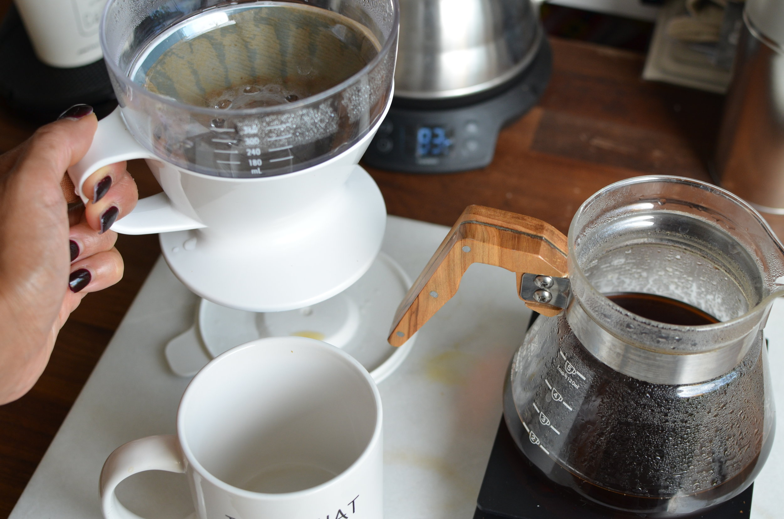 Oxo Pour Over With Water Tank Review The Girl In The Cafe