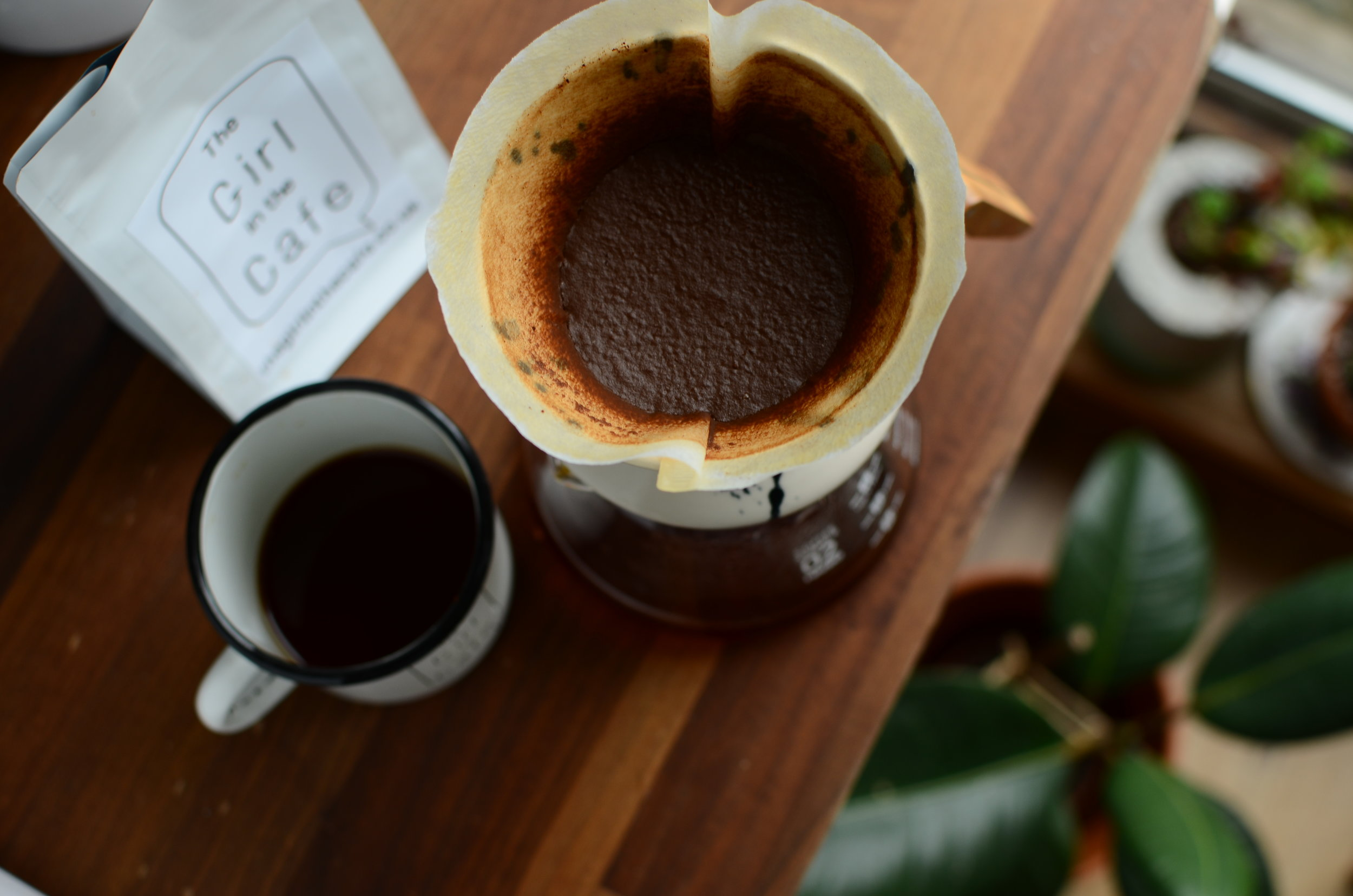 Making filter at home is a really good way to get to taste characteristics of coffee.
