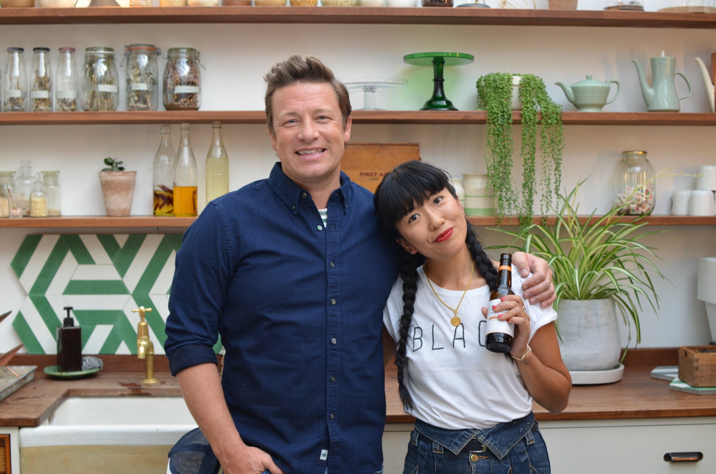 Jamie Oliver International Press Book Launch - 5 Ingredients Quick and Easy Food, Aug . 2017I was invited to make and host my The Girl in the Cafe coffee spot for Jamie Oliver's International Press launch for 5 Ingredients Quick and Easy. It was super fun.