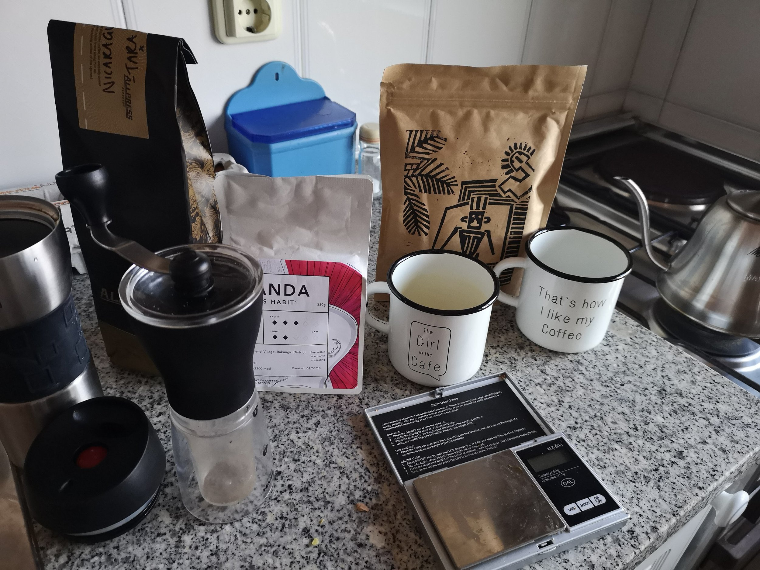 DIY coffee...