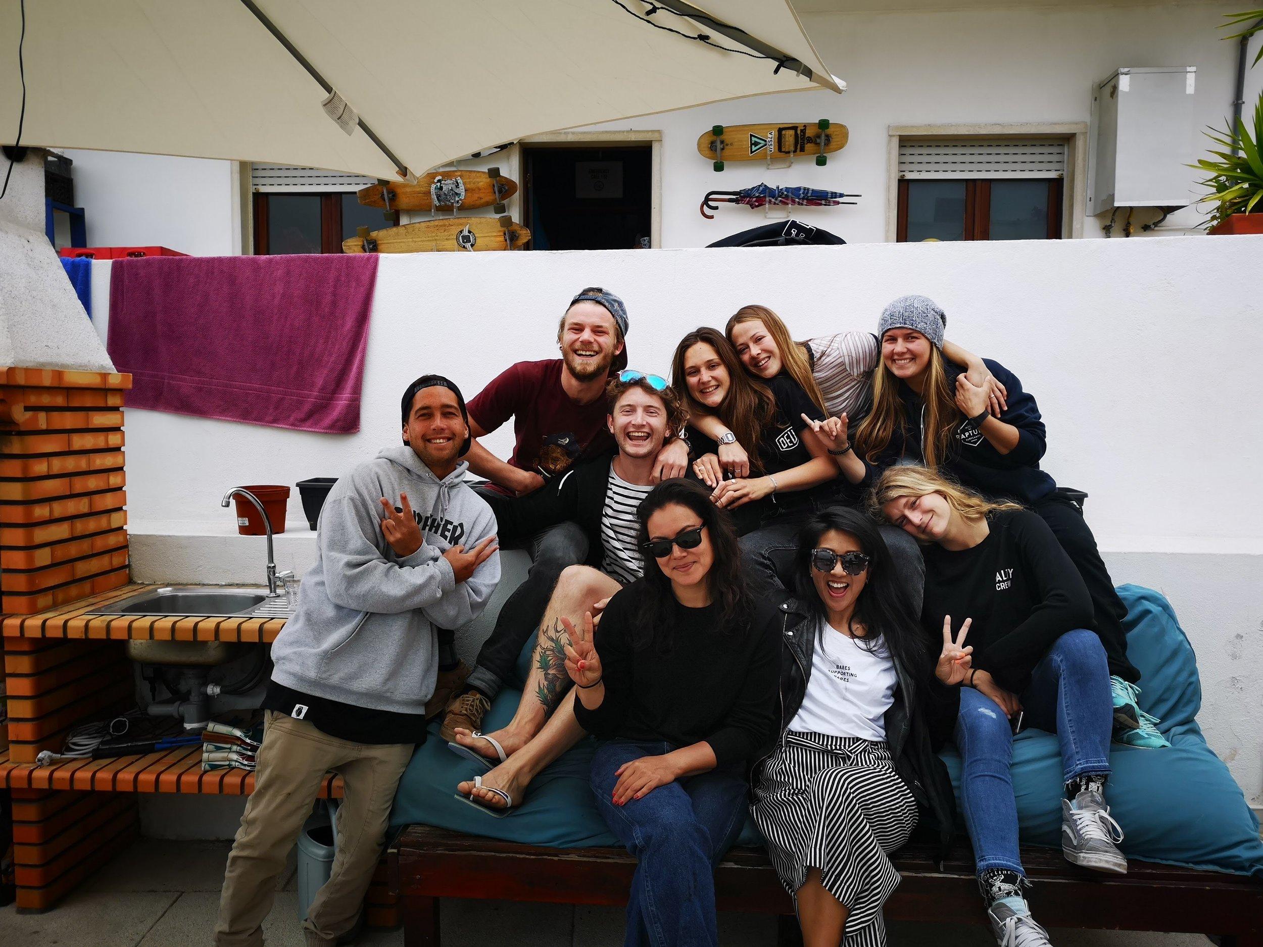 Rapture Surf Camp babes