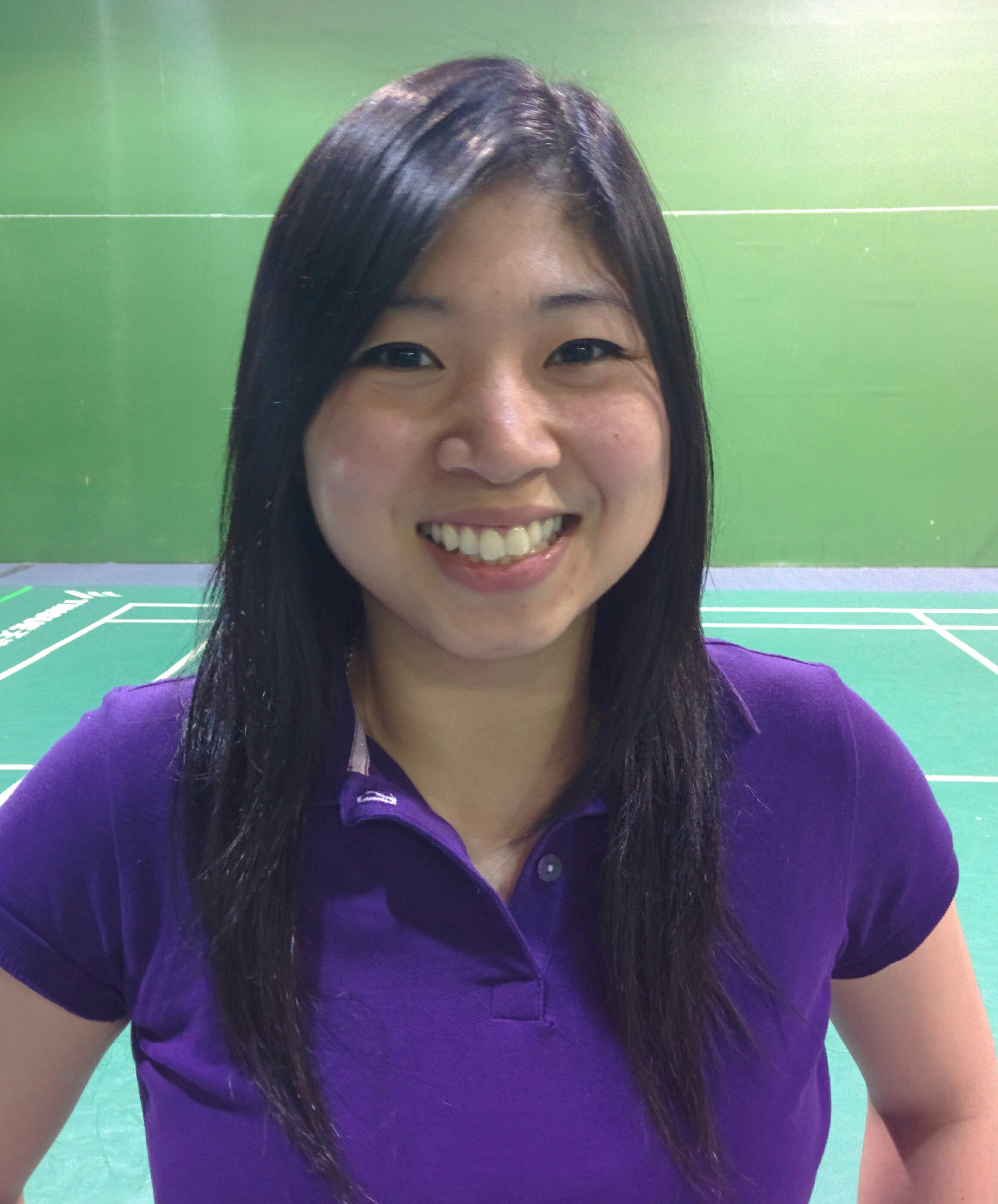 Lelyana Sutedja,   Coach of Suria Badminton Centre