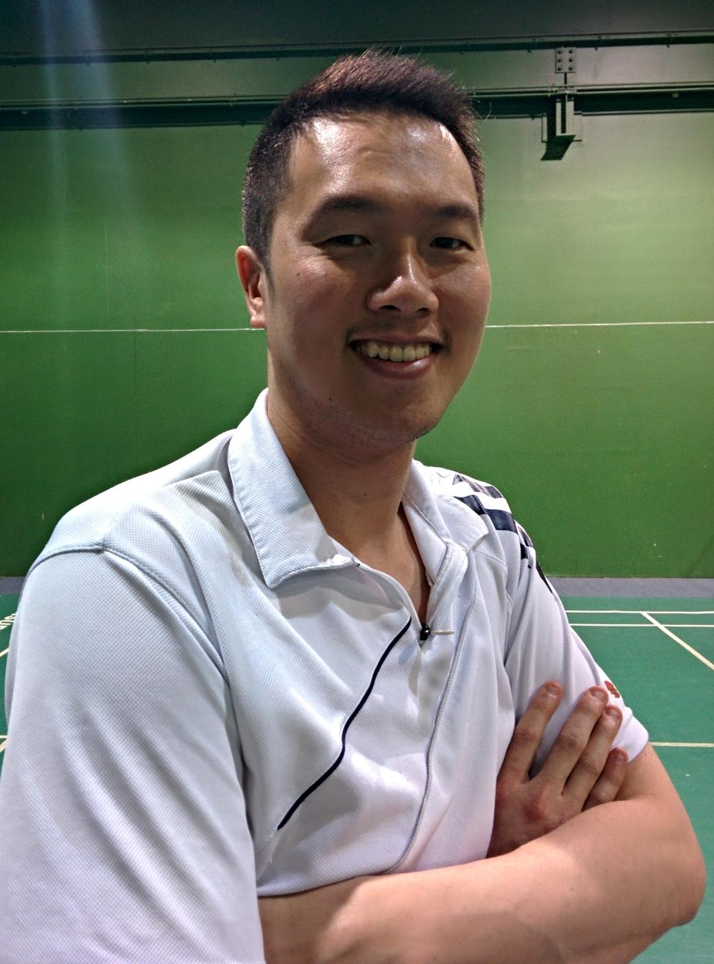 Allen Sutedja,   Coach of Suria Badminton Centre