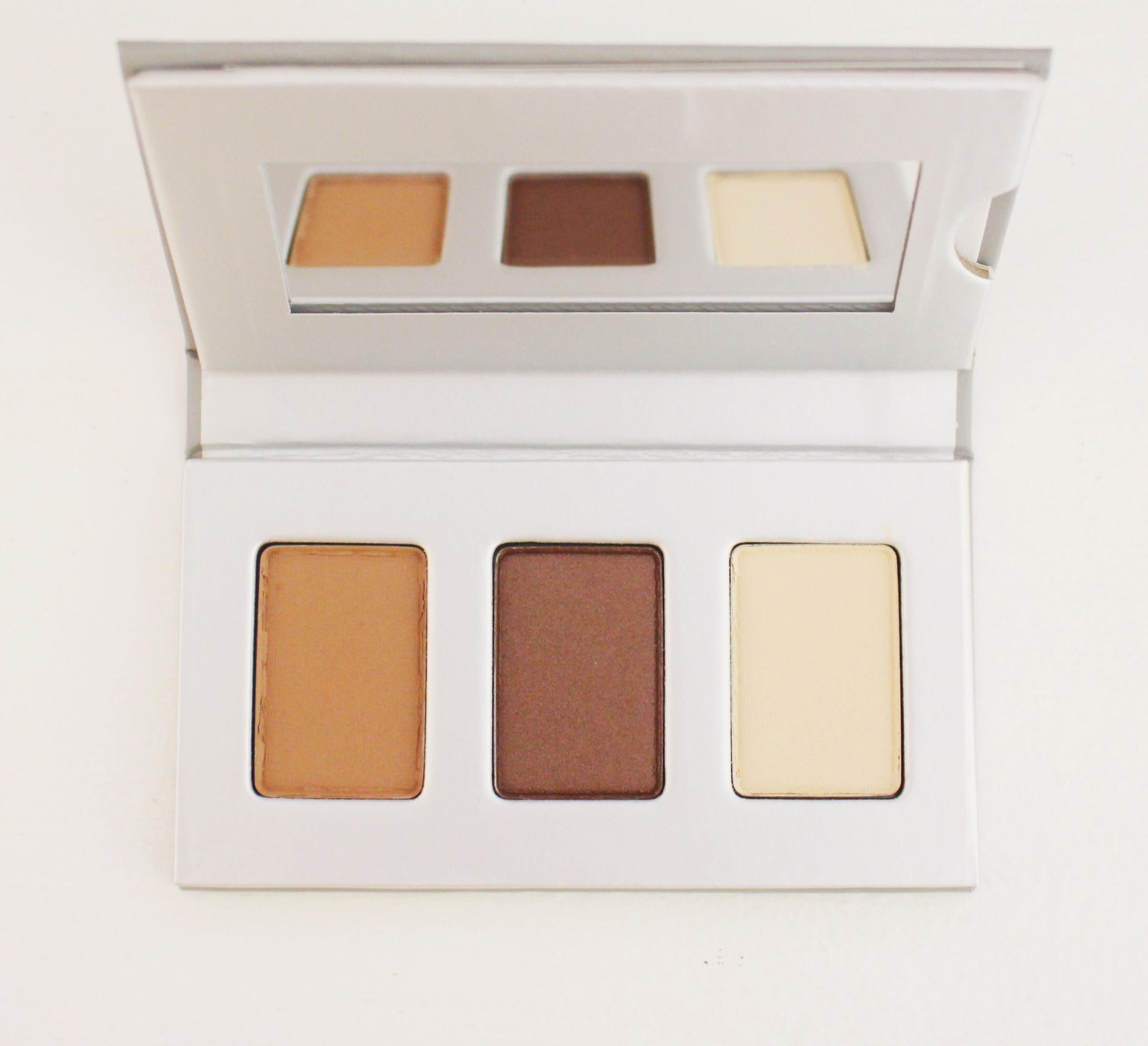 Honest Beauty Truly Effortless Soft Sand Eyeshadow Trio