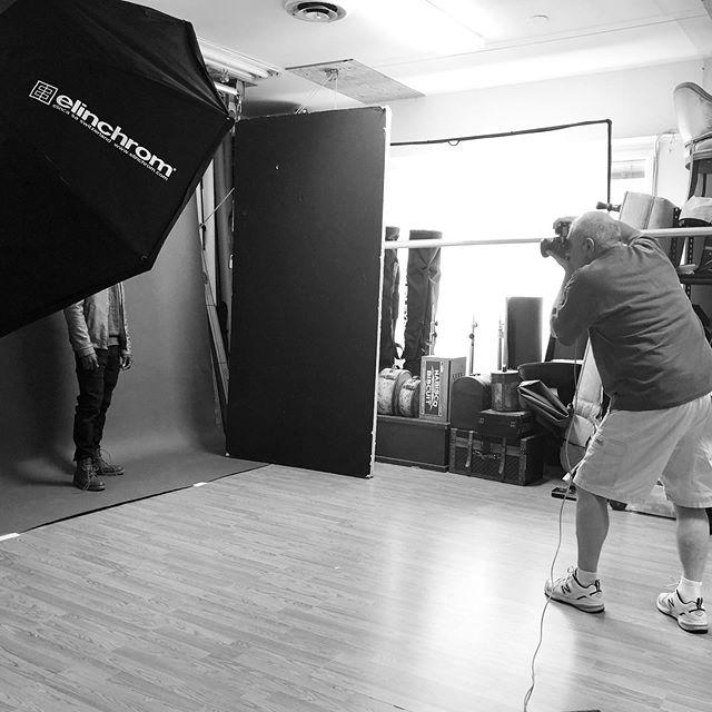 Studio views . . . . #makeuplife #mua #makeupartist #work #studio #studiowork #studiophotographer #billpersonsphotography #malemodel #malegrooming