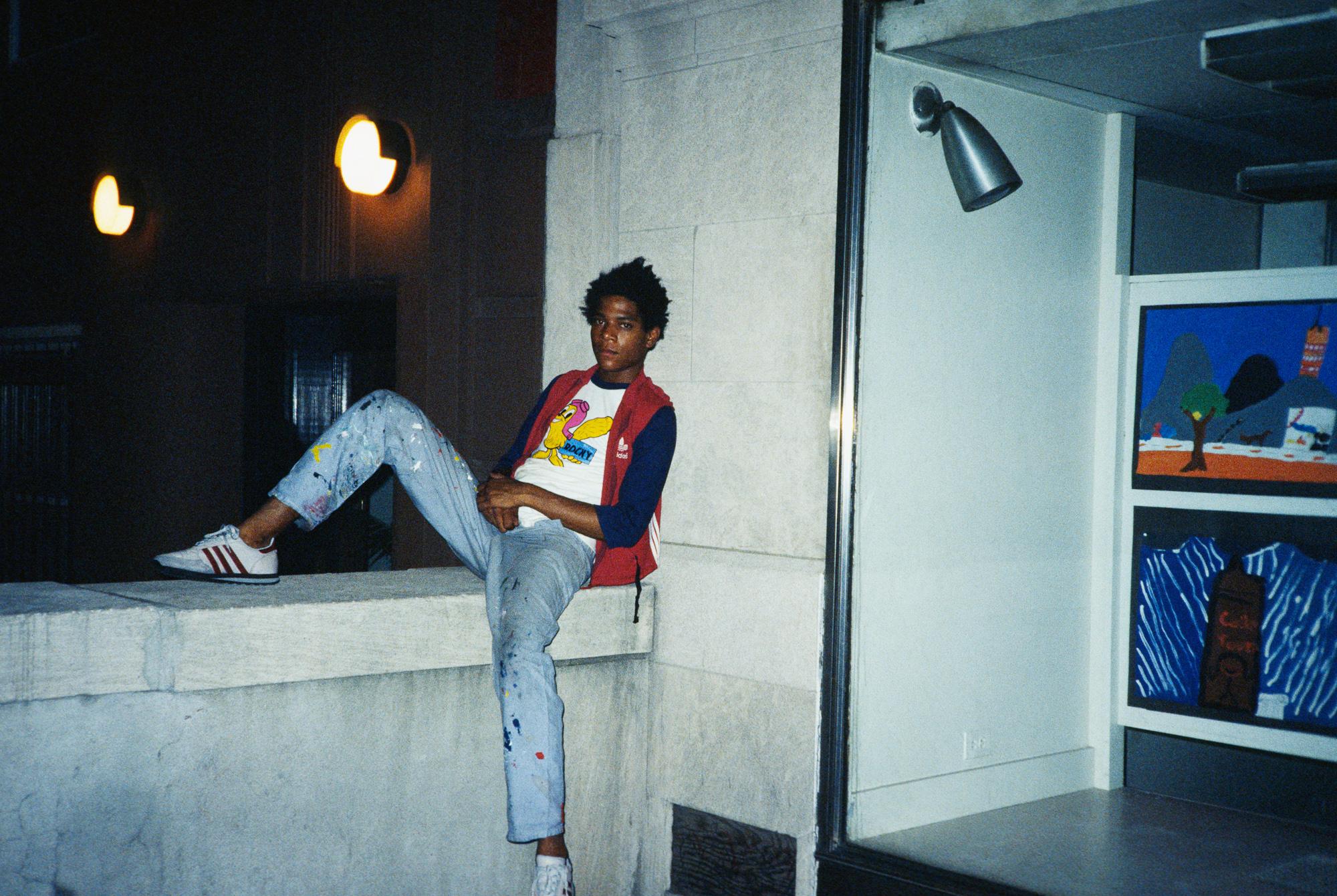Jean-Michel Basquiat, St. Ann's School.  (1983)