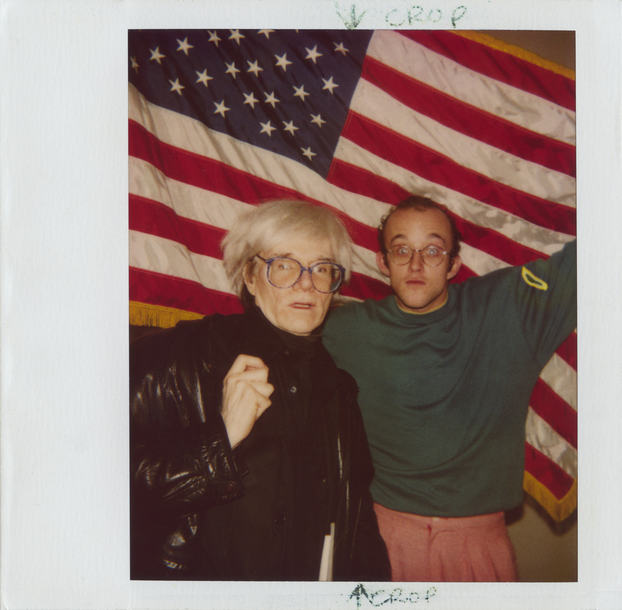 Andy Warhol and Keith Haring.
