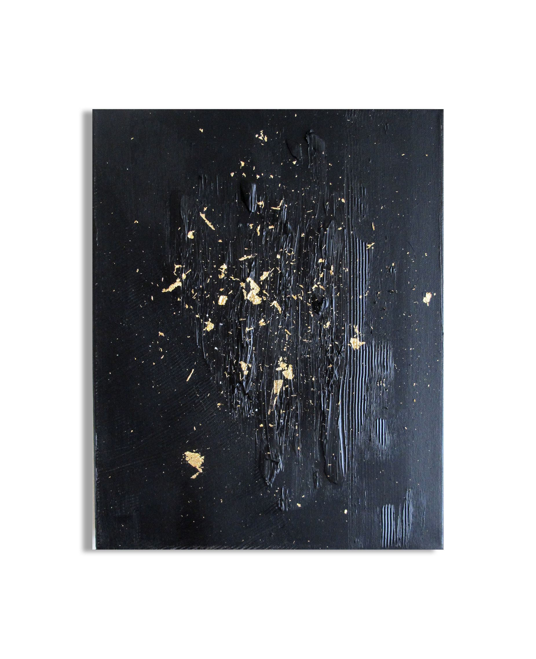 14 X 11 INCHES OIL / GOLD LEAF