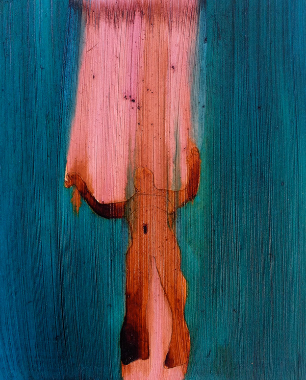 Soaring III 2014,  ink on board, 21 x 17 cm