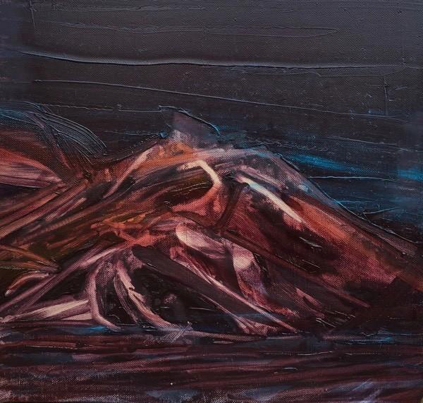 Iceland 4,  30x  30cm, oil on canvas