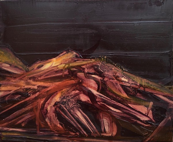 Iceland 5,  30x  30cm,  oil on canvas